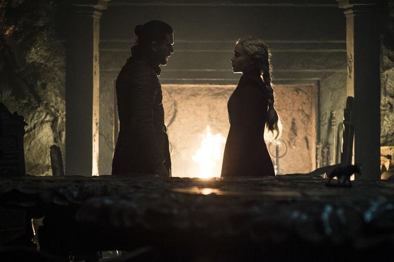 Vil Azor Ahai-profetien gå i oppfyllelse i siste episode? Foto: Helen Sloan/HBO