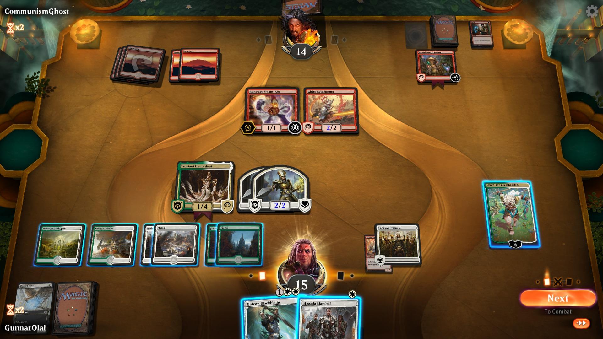 EN FRYD FOR ØYNENE: Grafikken i Arena er en solid oppgradering fra tidligere digitalversjoner av Magic.