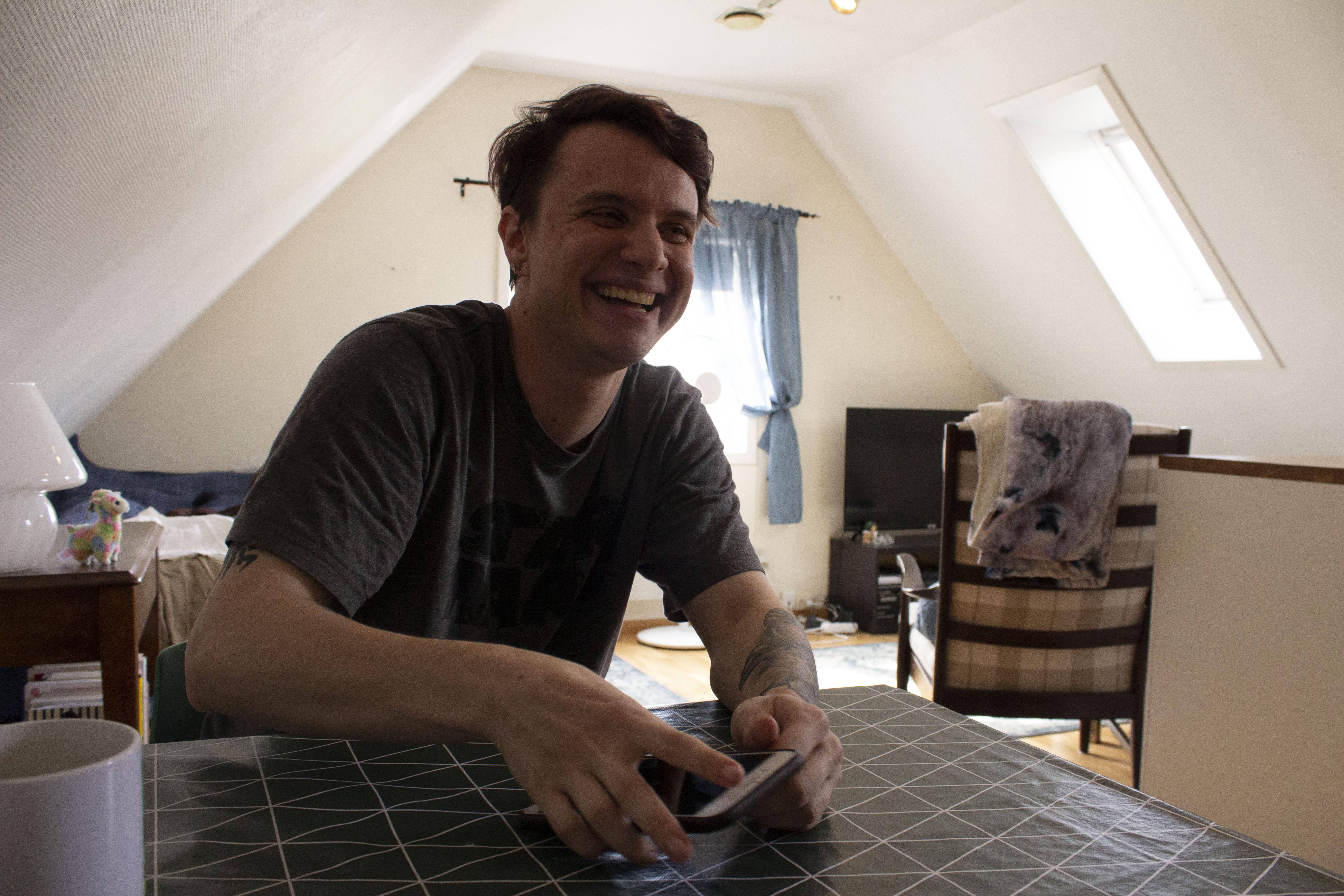 I tillegg til å selv drive med cosplay, er også Lukas medarrangør for NorthCon, som er en convention i Bodø. Også de har vært nødt til å avlyse i år. | Foto: Hedda Ovidia Stølen