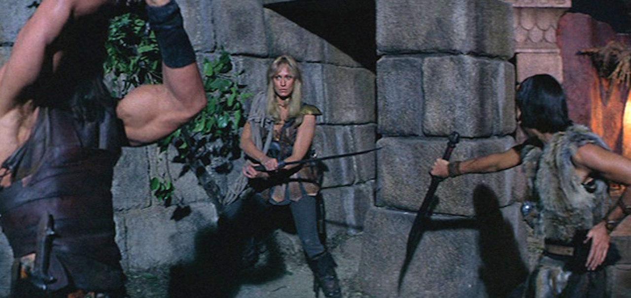 Tyven Valeria, Conans kjærlighetsinteresse, spilt av Sandahl Bergman. | Foto: Universal Pictures. 20th Century Fox
