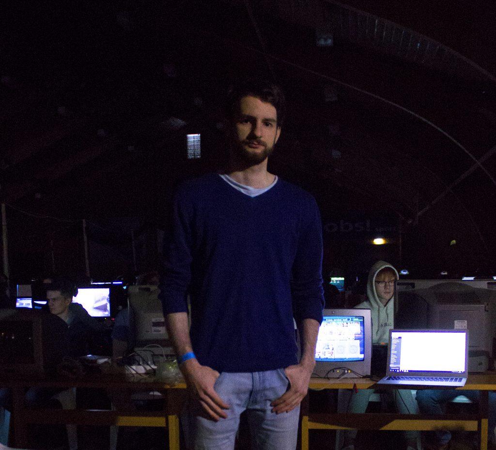 Astrit Mehmeti, Konkurranseansvarlig for Smash turneringen.