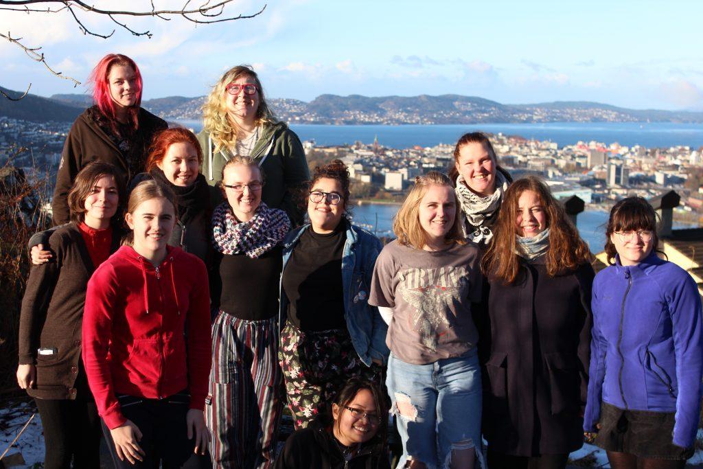 Heltinnene på årets seminar