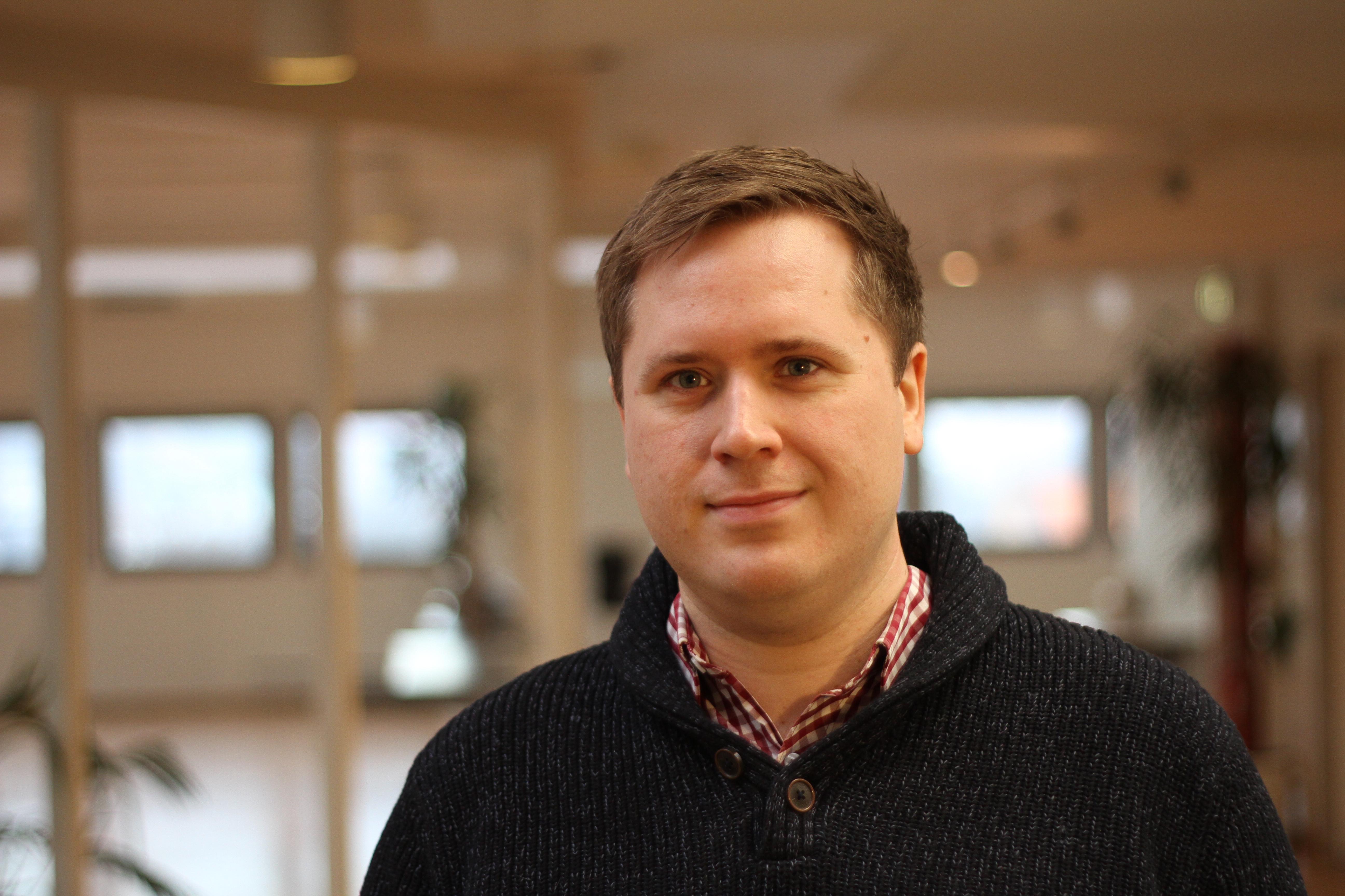 Andreas-Johan Øverby Ulvestad, arrangør av TG i 10 år.